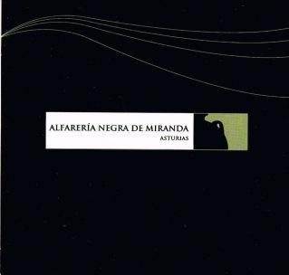 """Carátula del CD- ROM """"Alfarería Negra de Miranda"""", Diseño: Consuma Estudio"""