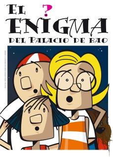 """Portada del cómic """"El enigma del palacio de Bao, ilustraciones e Frank Pérez"""