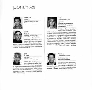 Participantes de las II Jornadas de Alfarería de Aviés